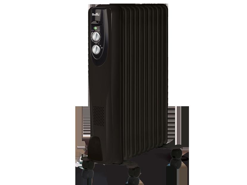 Масляный радиатор Ballu BOH/CL-11BRN black