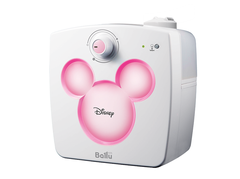 Ультразвуковой увлажнитель воздуха Ballu UHB-240 Disney pink